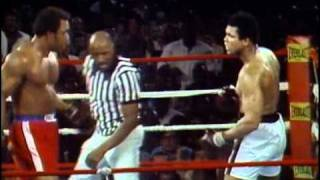Download George Foreman vs Muhammad Ali - Oct. 30, 1974 - Entire fight - Rounds 1 - 8 & Interview Video
