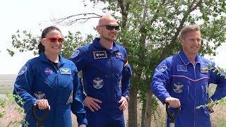 Download Экипаж «Союз МС-09» готовится к полету Video