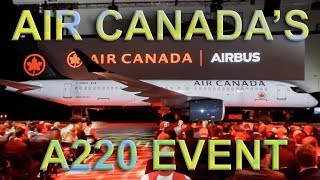Download AIR CANADA Reveals Their Airbus A220 for the FIRST TIME Video