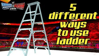 Download 5 different ways to use ladder in svr 2011/2k18 Wwe2k11 Video