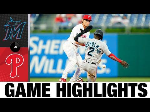 Marlins vs. Phillies Game Highlights (5/18/21) | MLB Highlights