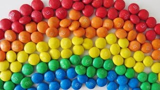 Download Rainbow M&Ms learn colors surprise egg toy video for babies toddlers preschoolers Video
