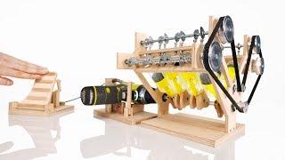 Download How it Works: V8 Engine Model Video