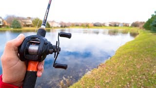 Download Fishing a SECRET Pond!! (Kicked Out?) Video