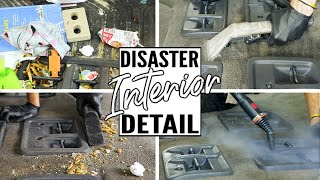 Download Cleaning The Dirtiest Car Interior Ever! Complete Disaster Full Interior Car Detailing Honda Odyssey Video