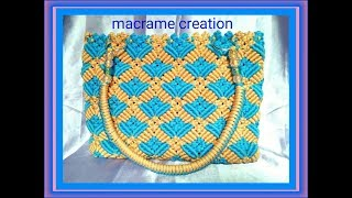Download How to make macrame bag tutorial in hindi Video