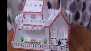 Download DIY - Thermocol House || How To Make House || Thermocol Craft For School Project Video