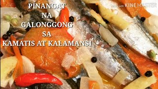 Download COOKING 101 : PINANGAT NA GALONGGONG SA KAMATIS AT KALAMANSI 👍 😋 Video