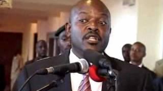 Download Burundi:Pierre Nkurunziza s'exprime sur les activités sportifs de la milice ″Imbonerakure″ Video