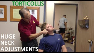 Download EXTREME neck pain & TORTICOLLIS is GONE with TWO HUGE NECK ADJUSTMENT's Video