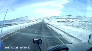 Download Elk Mountain rollover at 5:50 crst truck Video