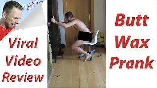 Download Butt Wax Prank! (Viral Video Review) Video