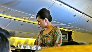 Download Singapore Airlines Impressive Economy Class: SQ866 Flight Review Singapore-Hong Kong (SIN-HKG) Video