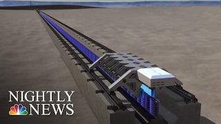 Download Elon Musk's 'Hyperloop One' Successfully Tests Propulsion System | NBC Nightly News Video