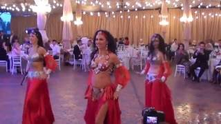 Download Arabic belly dance - Afghan Wedding - Amira Abdi Show 2016 Video