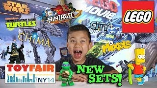 Download 2014 LEGO SETS!!! NY Toy Fair - LEGO MOVIE, CHIMA, NINJAGO, STAR WARS, SUPER HEROES, TMNT, and MORE! Video