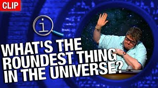 Download QI | What's The Roundest Thing In The Universe? Video