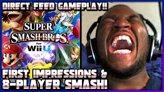 Download Super Smash Bros (Wii U) (1080p60): First Impressions & 8 Player Smash!! (Gameplay & More) Video