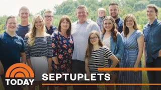 Download First Set Of Septuplets Turn 18: Catching Up With The McCaughey Family | TODAY Video