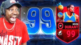 Download 99 OVERALL NBA RULER KEVIN DURANT! NBA Live Mobile 16 Gameplay Ep. 62 Video