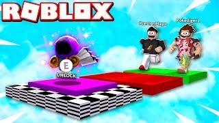 Download ROBLOX 1v1 OBBY RACE! IF POKE WINS, HE GETS HIS DOMINUS! Video