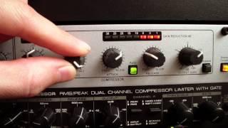Download dbx 266xs Compressor Video