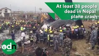 Download At least 38 people dead following plane crash in Nepal Video