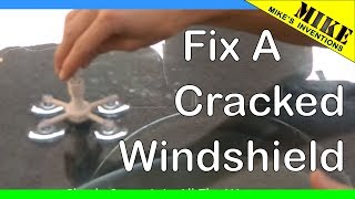 Download How to Repair a Cracked Windshield with Rain-X Repair Kit Video