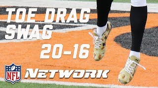 Download Breaking Down the Top 20 Toe Drag Swag Catches of 2016 (#'s 20-16) | Burleson's Best | GMFB | NFLN Video