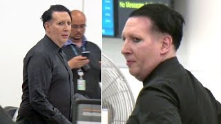 Download Marilyn Manson Not Looking Like Himself After Father's Death Video