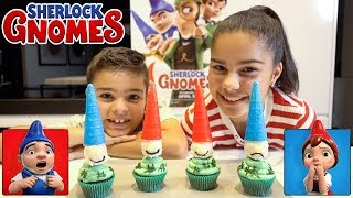 Download Sherlock Gnomes Cupcakes! | Cooking with Grace Video