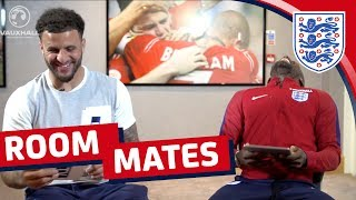 Download Does Kyle Walker know Jermain Defoe's sporting hero? | Roommates Video