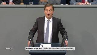 Download Bundestagsdebatte zum Asylrecht, Rede von Bernd Baumann (AfD) am 07.06.19 Video