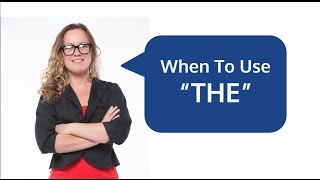 Download When to Use ″THE″ Article in English Language Grammar Video