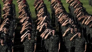 Download Brazil: Army begins combat against Zika Video