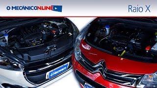 Download Raio X - Peugeot 208 e Citroën C3 com motor 1.2 Puretech (Avaliação do Mecânico) Video