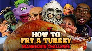 Download How NOT to fry a turkey- Mannequin Challenge | JEFF DUNHAM Video