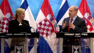 Download PM Netanyahu's Meeting with Croatian President Grabar-Kitarović Video