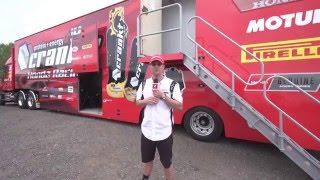 Download Toured: Crankt Protein Honda Racing Transporter Video