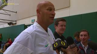Download Head Coach Kelly Graves Talks First Week of Practice Video