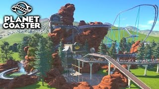 Download EPIC CUSTOM LOG FLUME! - PLANET COASTER #9 Video