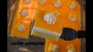 Download كيكة الست ملاعق بذوق البرتقال ب2 بيضات فقط وب3 طبقات باردة ومنعشة Video