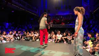 Download Marie Kaae vs Didier Firmin JUDGE BATTLE House Dance Forever - Summer Dance Forever 2015 Video