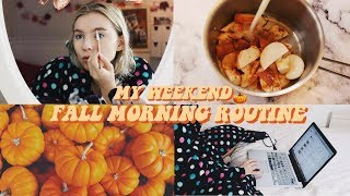 Download MY FALL/WINTER MORNING ROUTINE 2017 | Rebecca Ellie Video