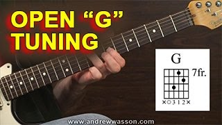 Download GUITAR: Open ″G″ Tuning Video