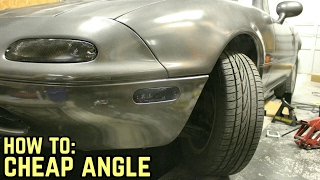 Download STEERING RACK SPACERS = MORE ANGLE! : Miata Drift Build Ep.3 Video