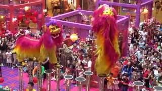 Download Acrobatic Lion Dance @ 1 Utama Shopping Centre (18 Jan 2014) by Khuan Loke Dragon & Lion Dance Video