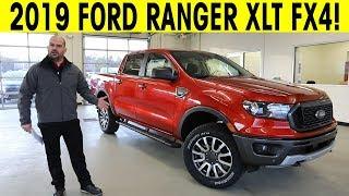 Download 2019 Ford Ranger - XLT FX4 - Exterior & Interior Walkaround Video