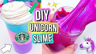 Download 3 DIY UNICORN SLIMES! How To Make THE BEST Magical Unicorn Slime! Video