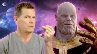 Download Josh Brolin Tells Us How To Do the Thanos Snap Video